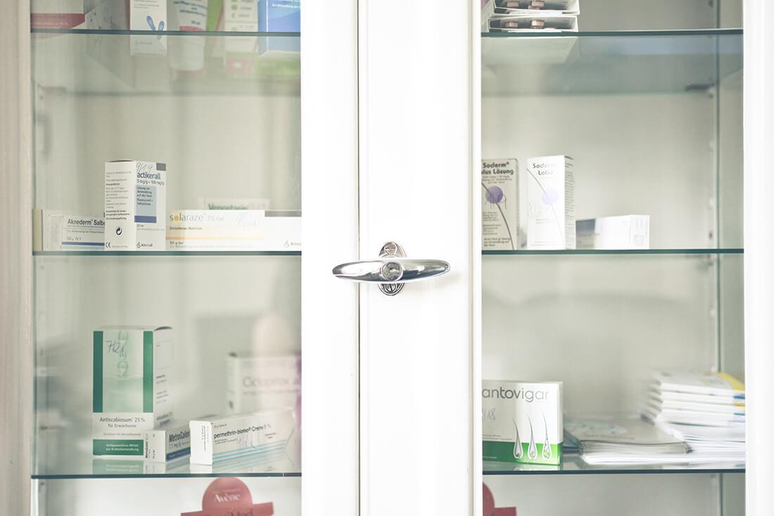 Hautarzt Lichtenberg Berlin - Praxis Dr. Hoppe - Medikamente